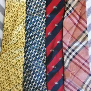Burberry Lot of 5 ties